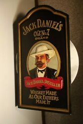 Jack Daniels Tennessee Whiskey Old No. 7 Sign Man Cave Garage - Large 23 X 12