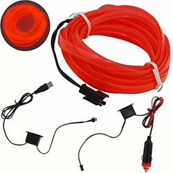 Shunyang El Wire Neon Lights For Cars Interior Exterior Cold Wire Led Lights ...