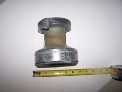 Used Lewmar 30 Self Tailing Chromed Winch England Sailboat 2 Speed Lot1957