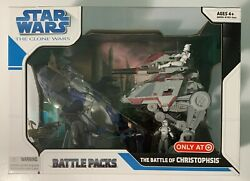Star Wars Clone Wars Battle Packs The Battle Of Christophsis Target Exclusive
