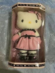 Sanrio Hello Kitty Kitty-chan Dress Ribbon Accessory Plush Toy Doll With Serial