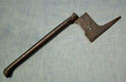 Antique 17th - 18th Century German Saxon Miner's Guild Axe To Sword