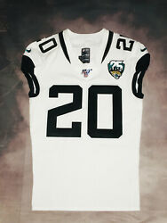 100 Authentic Nike 2019 Jaguars Jalen Ramsey Game Issued Jersey Sz 40 Road