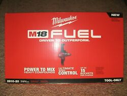 Brand New Milwaukee M18 Fuel 2810-20 Mud Mixer Bare Tool Only