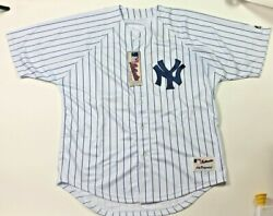 Alex Rodriguez New York Yankees Majestic Authentic Collection Jersey Size 50 Nwt