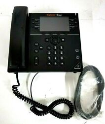 Polycom Ring Central Vvx 450 Business Ip Phone / Reset / No Stand Or Power Supp