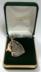 1652 Silver Mexico 4 Reales Mel Fishers Treasures Coin In 14k Gold Dolphin Bezel