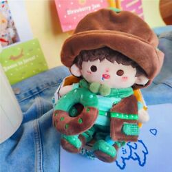 Original Hand-made 20cm Doll Clothes Clothing Outfit Matcha Donuts Set Cosplay
