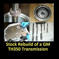 Dvd Video How To Rebuild Th350 Automatic Transmission Turbo Th-350 350c Manual