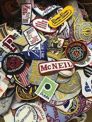 Vintage Patch Lot 50 Patches Nasaautomotiveadvertisementsportsmilitary Rare