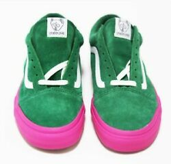 Golf Wang Sneakers New 2014 Syndicate Old Skool Pro S Green Pink 42 9.5