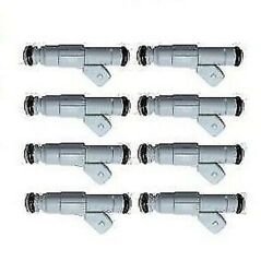 8x Bmw Audi Ford Chevy Vauxhall Upgrade Blue Giant 370cc 36lb Fuel Injectors