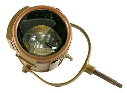 Gray And Davis 7 Inch Spotlight Brass And Bronze - Perfect For Model T Speedster