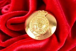 Antique British Monarch Army Brass Uniform Button The Royal Coat Of Arms 26mm