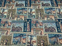 New Lighthouse Theme Tapestry Upholstery Fabric 54quot; Width By The Yard