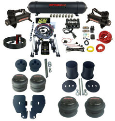 3 Preset Heights Complete Air Ride Suspension Kit Manifold Fits 65-70 Impala