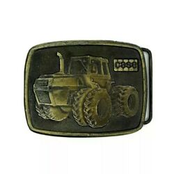 Vintage Ji Case 2870 Traction King 4 X 4 Tractor Belt Buckle 1970s Rare Nos