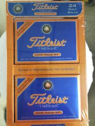Titleist 24 Golf Balls New Hvc Tour Sf New Sealed Softer More Responsive Feel