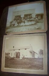 1889-1900 Lot 2 Allens Hills Ny Carpenter Family Reunion Cabinet Photo Victorian