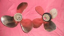 Volvo Penta T7 Duoprop Nibral Propeller Set For Ips Drive 3861107 211-16ab