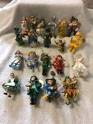 Heirloom Ornaments Wizard Of Oz Group Of 20 Rare