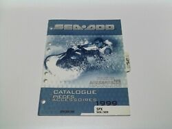 Factory Sea Doo Parts And Accessories Catalog 1999 Spx 5636/5828