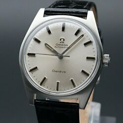 Omega Geneve Vintage Overhaul Cal.552 Automatic Mens Watch Authentic Working