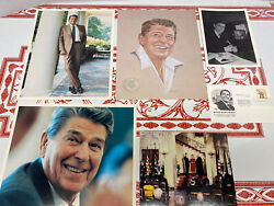 Ronald Reagan Silver Convention Medal 1984 Photographs Prints Stamp Etc