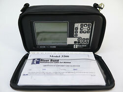 Riser Bond 3200 Tdr Cable Fault Locator Coaxial Metallic Time Domain Reflectomet