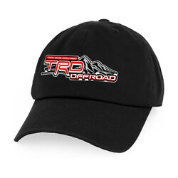 Toyota Trd Offroad Sports Car Graphic Printed Hats Low Profile Baseball Cap C