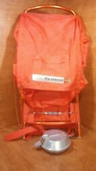 The Everest Backpack With External Frame And Boy Scout Mess Kit
