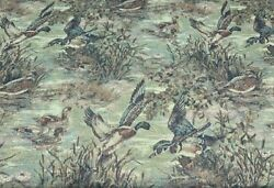 New Duck Theme Tapestry Upholstery Fabric 54quot; Width By The Yard