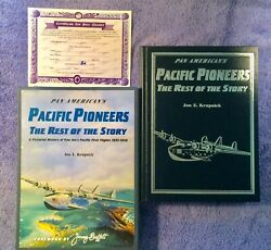 Pan American's Pacific Pioneers Jon Krupnick - Signed Leather Bound Limited Ed.