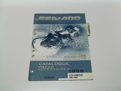 Factory Sea Doo Parts And Accessories Catalog 1999 Gtx Limited 5888/5889