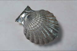 And Co. Shell Motif Magnifying Glass Sterling Silver
