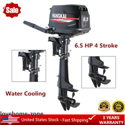 6.5hp 4-stroke Outboard Motor 123cc Boat Parts Engine Cdi Water-cooling Hangkai