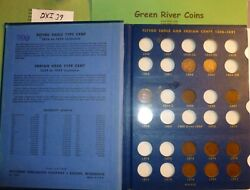 Flying Eagle Indian Head Penny Cent Coin Collection Dxi-39 1857 To 1909