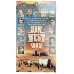 How The West Was Won Vhs James Stewart John Wayne New And Sealed