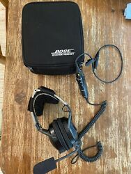 Bose X Aviation Headset - Ahx-32-02 - New Boom Cover And Ear Cups - Free Shipping