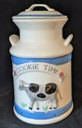 Cookie Time Jar Milk Can Treasure Craft New Original Box Mint Cow Container Jug