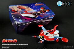 Grendizer Figurine Goldorak Ejectable Retro And Soucoupe Metal Die Cast Deluxe
