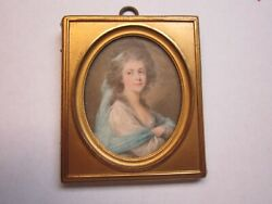 Miniature Picture Of Countess Claur-martinic Fuger