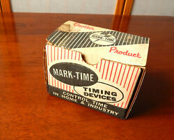 M H Rhodes Mark-time 90006 Wall Box 30 Min Timer Switch - New Old Stock