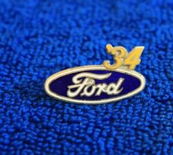 And03934 Ford Blue Oval Fomoco Hat Lapel Pin Accessory Ford Motor Company