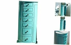 Bailey Jewelry Armoire Turquoise