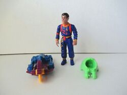 Real Ghostbusters Winston Zeddmore Cyclinand039 Slicer Action Figure Kenner 1984