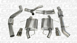 Corsa 3.5 Dual Rear Cat-back Exhaust 2007-2012 Bmw 335i E92 Coupe