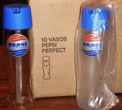 Box With 10 Bttf Back To The Future Pepsi Perfect Bottle Argentina Edition