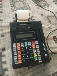 Hypercom Vital Credit Card Terminal And Card Reader W/ Power Supply - T7plus Rre01