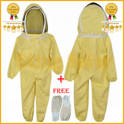 Hot Seller Kids Beekeeping Suit In Fencing Veil With Free Leather Gloves